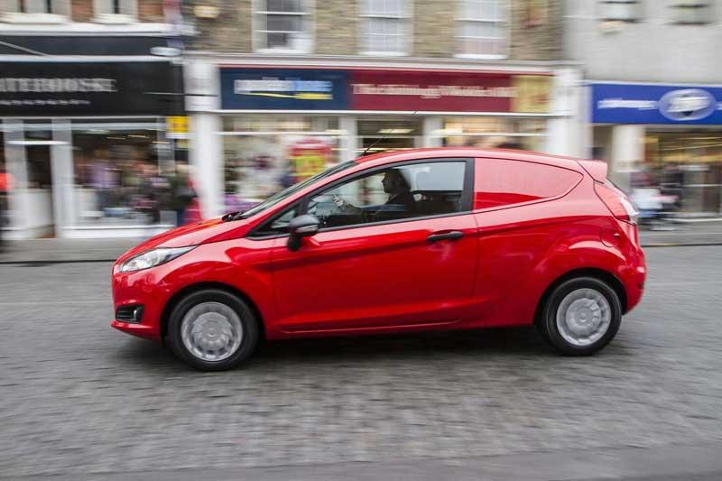 2013 Ford Fiesta Van