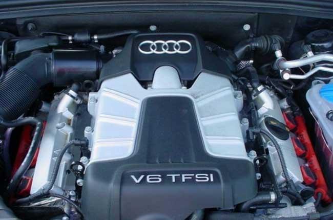 Двигатель Audi