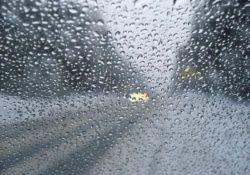 Дождь, дорога