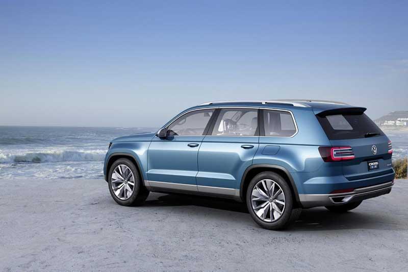 Volkswagen CrossBlue SUV Concept