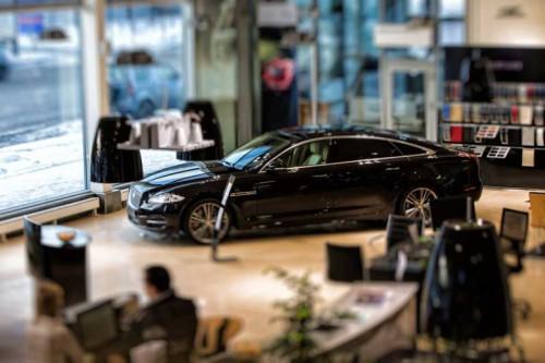 Автосалон Jaguar
