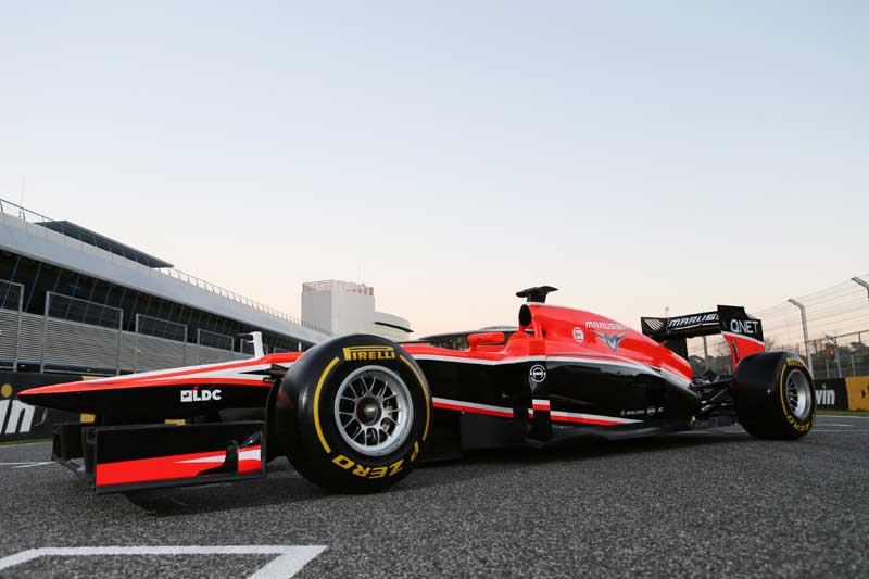 2013 Marussia MR2