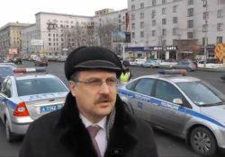 Активисты ФАР в поиске нарушителей ПДД на Кутузовском проспекте