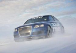 Мировой рекорд скорости на льду