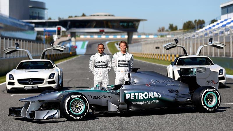 Mercedes F1, сезон 2013
