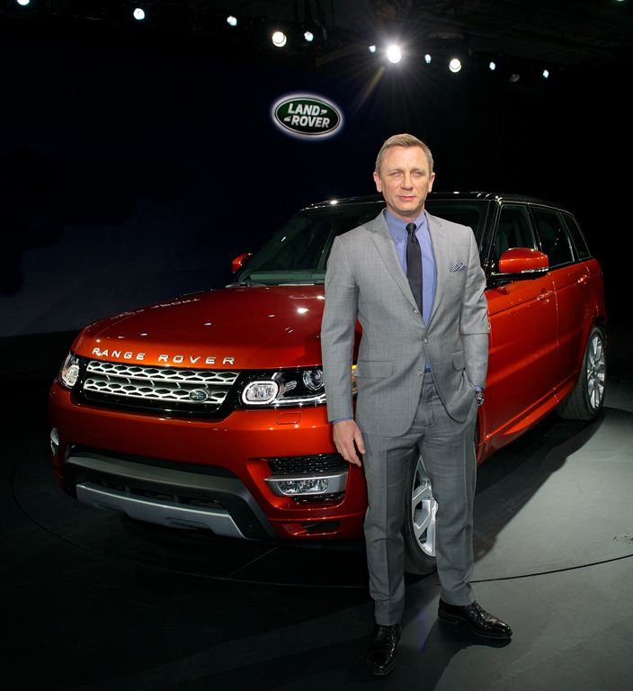 2014 Range Rover Sport, Дэниэл Крейг