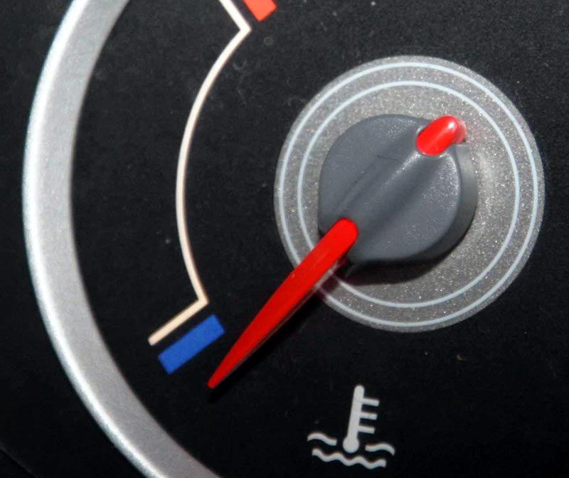 Прибор, уровень охлаждающей жидкости