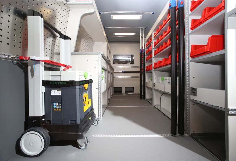 Volkswagen Crafter для столяров и плотников
