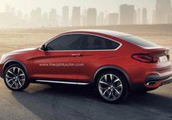 BMW X4, любительский дизайн