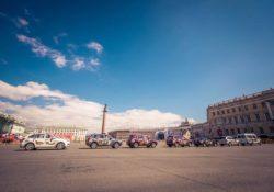 Автопробег «Дорогами Победы» на автомобилях LIFAN