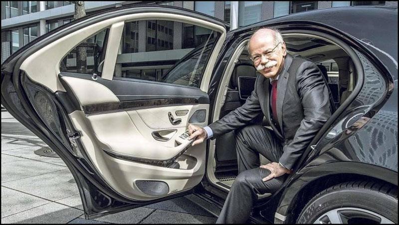 Дитер Цетше, 2014 Mercedes-Benz S-class