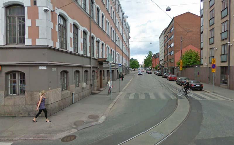дорога, Хельсинки