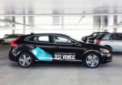 Автономный парковщик Volvo