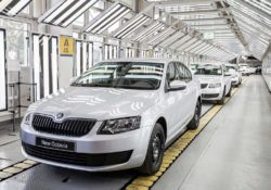 Volkswagen Group на ГАЗе (Skoda Octavia)