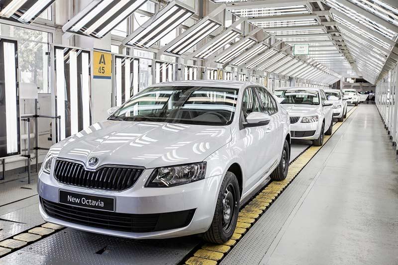 Volkswagen Group на ГАЗе (Skoda Octavia)
