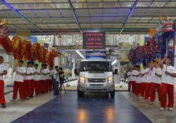 7-миллионный Ford Transit, Наньчан, Китай