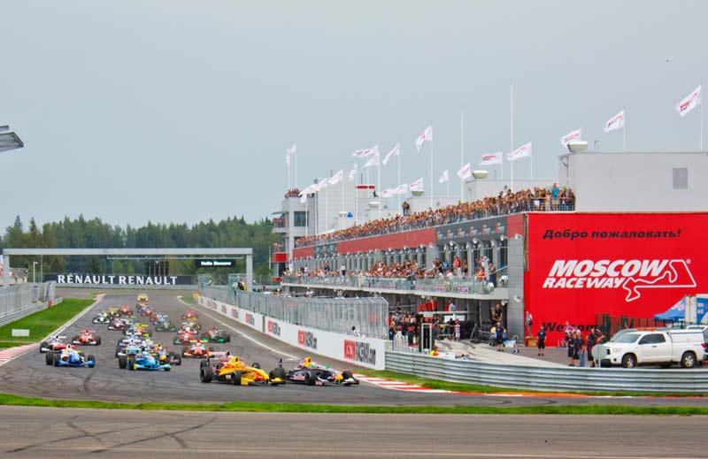 Formula Renault, Moscow Raceway