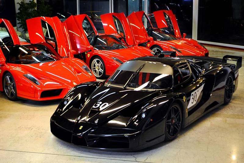 Ferrari FXX Михаэля Шумахера