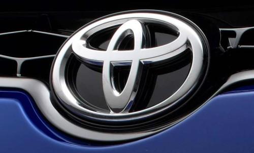 2014 Toyota Corolla, Toyota logo