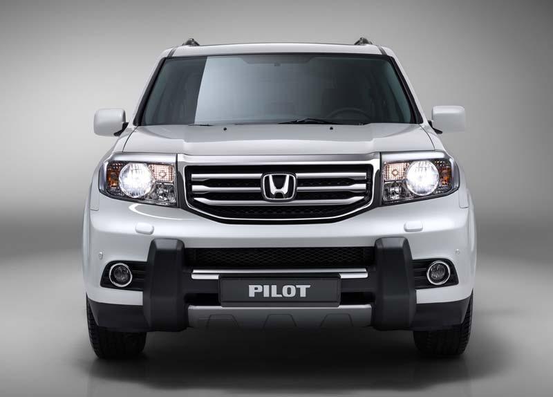 2013 Honda Pilot White