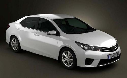 2014 Toyota Corolla (рендеринг)