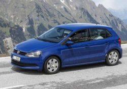2014 Volkswagen Polo (шпионское фото)