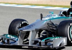 Mercedes AMG Petronas F1 Team (2013), шины Pirelli