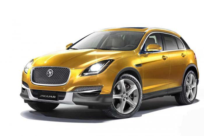 Кроссовер Jaguar (2015)