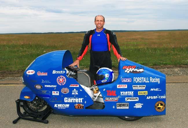 Bill Warner, Suzuki Hayabusa