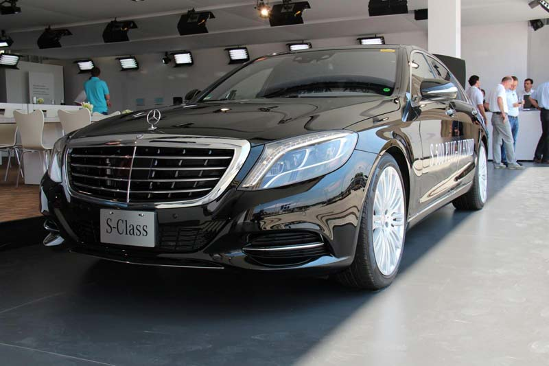 2014 Mercedes-Benz S-class Plug-in Hybrid