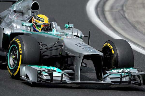 Льюис Хэмилтон, Mercedes, 2013
