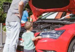 Отцы и дети, автомобиль