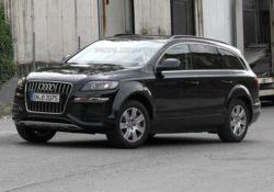 Audi Q7 второго поколения. Шпионское фото