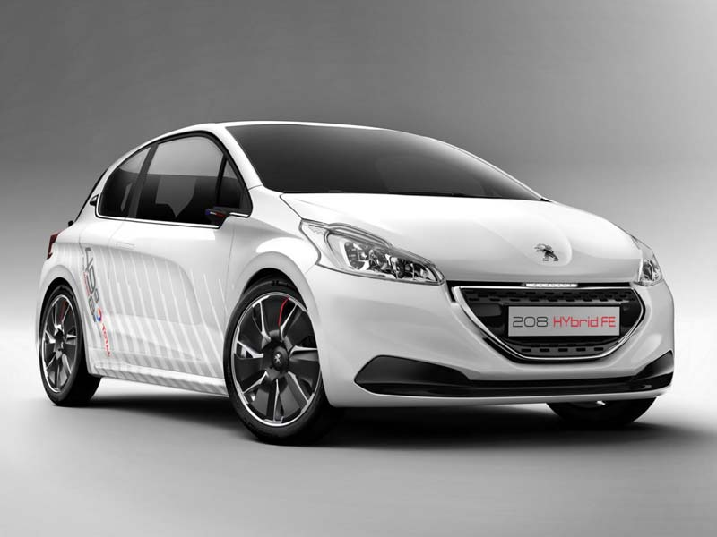 Peugeot 208 Hybrid FE Сoncept