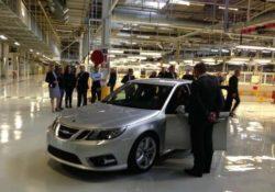 Трольхеттан, 2013. Saab 9-3