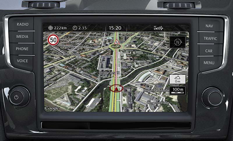 Навигационная система Volkswagen, Car-Net