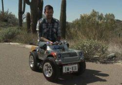 Самый маленький автомобиль в мире, автор: Остин Каулсон, США