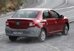 Renault Logan (шпионское фото)