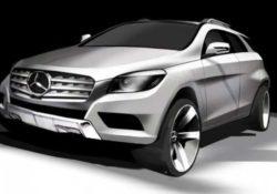 Mercedes-Benz MLC (набросок)