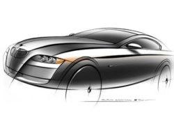 BMW 3 Coupe, эскиз Святослав Саакян