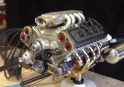 45-кубовый двигатель V8