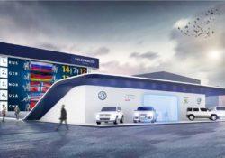 Павильон Volkswagen в Сочи