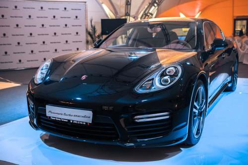 Презентация Porsche Panamera на ADM Raceway в Мячково
