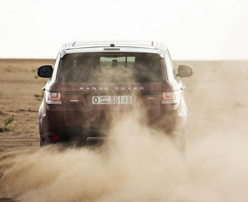 Range Rover Sport в пустыне Руб-Эль-Хали (Empty Quarter)