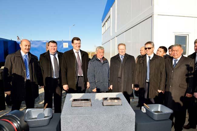 Первый камень в фундамент нового автозавода «Азия Авто Казахстан»