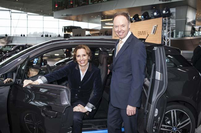 Ян Робертсон, Кристин Хадертауэр, BMW i3