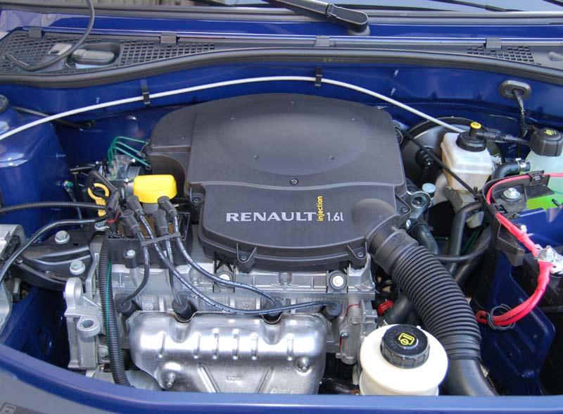 Двигатель Renault K, 1,6, 105 л.с