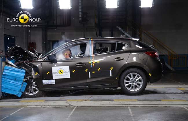 Краш-тесты Euro NCAP, 2014 Mazda3