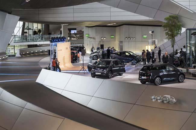 BMW i3 в BMW Welt