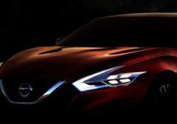 Nissan Sport Sedan Сoncept (тизер)
